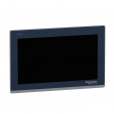 "15""W touch panel display, 2COM, 2Ethernet, USB host&device, 24VDC"