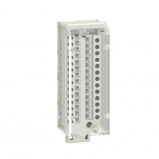28-pin removable caged terminal blocks - 1 x 0.34..1 mm2